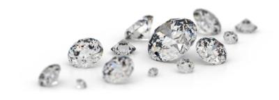 Pins con diamantes