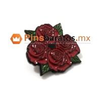 Pin de rosas.