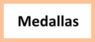 Medallas personalizados para campeonatos y religiosas.