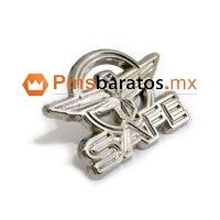 Pines metálicos con logo aviación