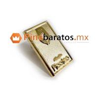 Pines metálicos troquelados acabado oro para restaurantes