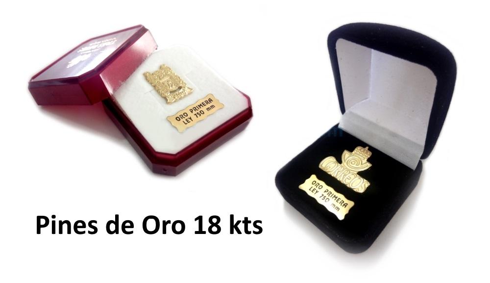 Pins de oro