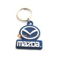 Llaveros de goma Mazda