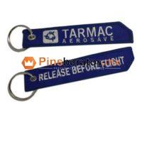 Llaveros personalizados de tela y envío a CDMX